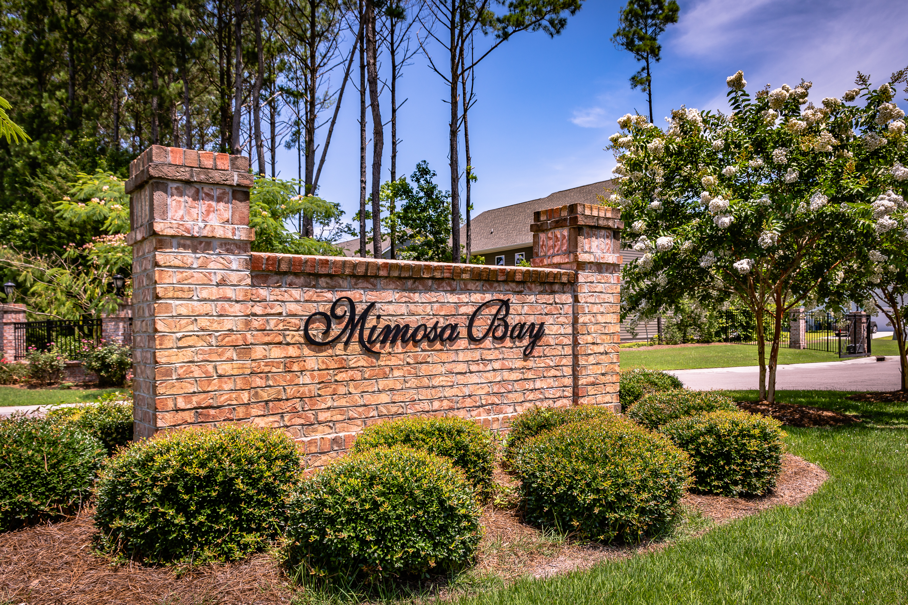 Mimosa Bay Gated Entry