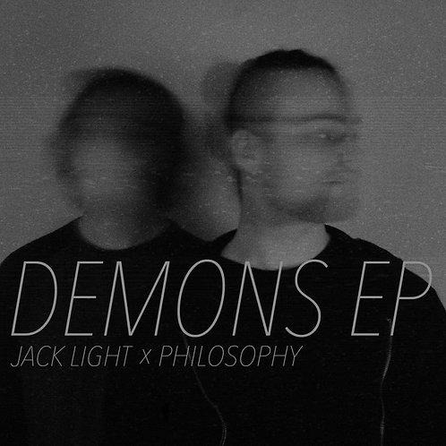 PHYSICAL CD - JACK LIGHT X PHILOSOPHY - DEMONS EP