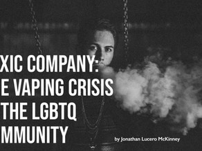 The Vaping Crisis in the LGBTQ Community