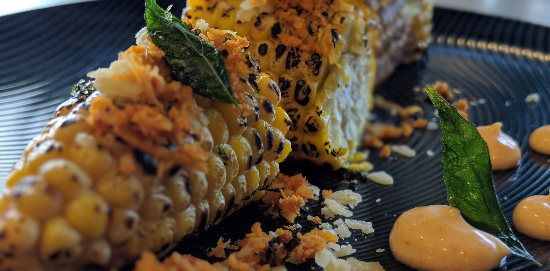 Grilled Corn cob with Sri Lankan Spices