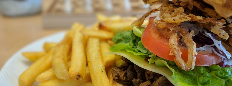 Lamb Burger (try out)
