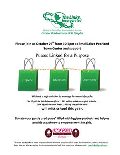 Purses Linked with a Purpose     Flyer.j