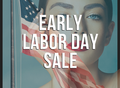 Early Labor Day Sale!