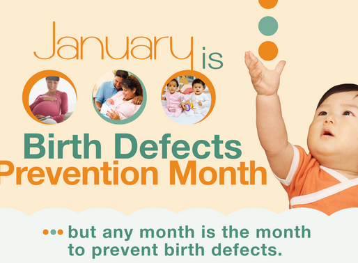 National Birth Defects Prevention Month