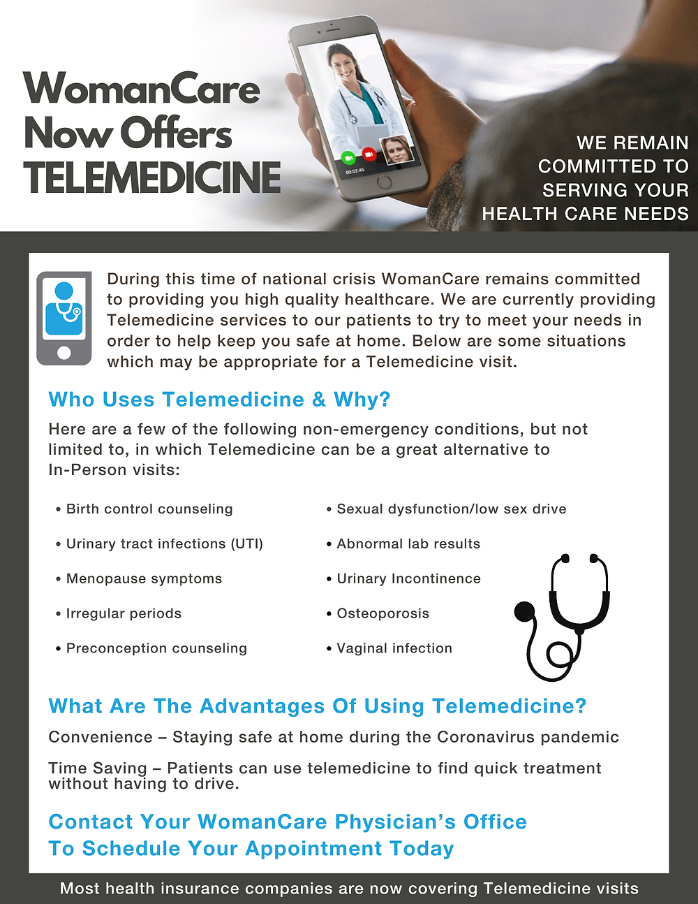 Telemedicine at WomanCare
