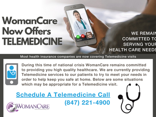 Now Offering Telemedicine