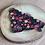 Thumbnail: Ebony Winter Floral Bandana