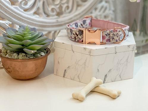 Blush Pink Botanical Collar