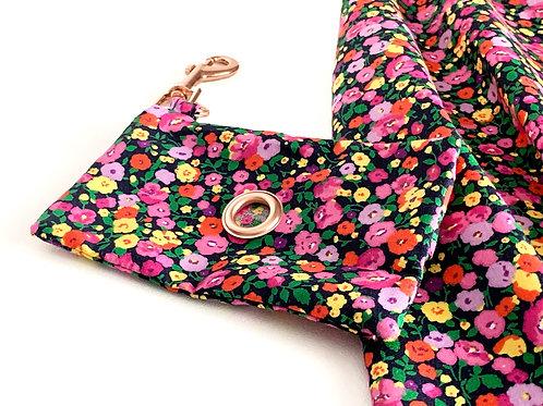 Autumnal Floral Doggie Bag Holder
