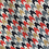 Thumbnail: Red and Blue Printed Houndstooth Lead
