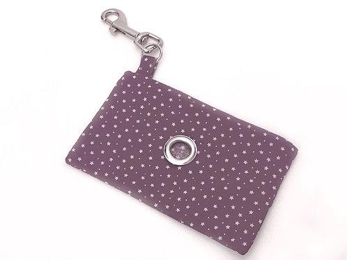 Purple Star Doggie Bag Holder