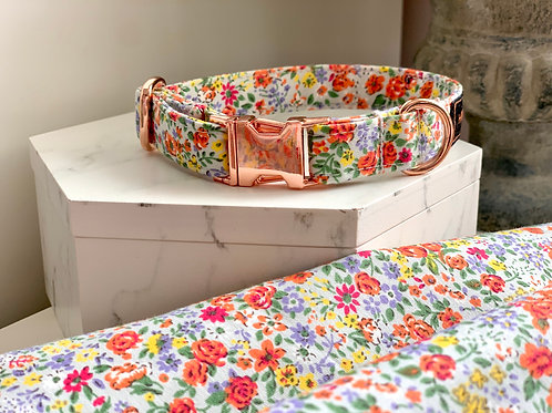Orange Bloom Collar