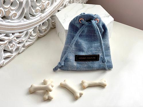 Traditional Fabric Treat Bag Holder