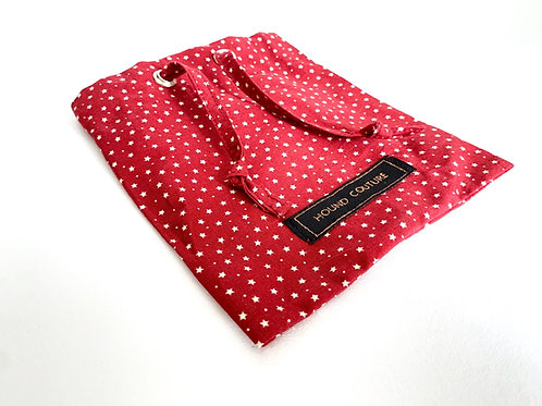 Red Star Treat Bag Holder