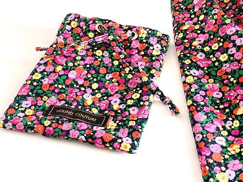 Autumnal Floral Treat Bag Holder