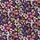 Thumbnail: Plum Ditzy Floral Collar