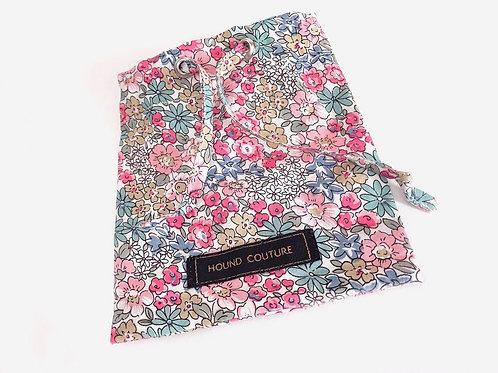 Vintage Floral Treat Bag Holder
