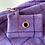 Thumbnail: Lilac Check Doggie Bag Holder