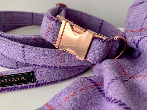 Lilac Check Collar