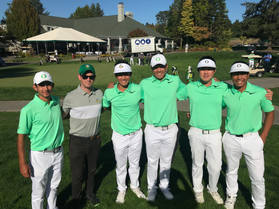 University of Oregon Mens Golf Team.