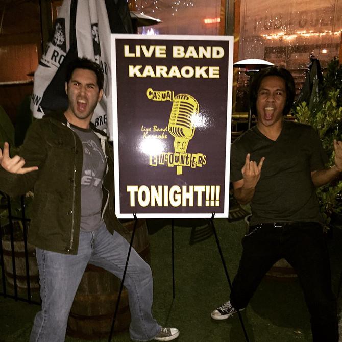 Karaoke LARP: Live Band Karaoke