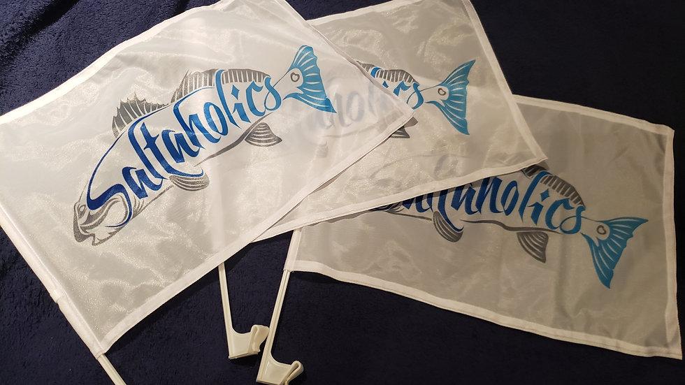 Saltaholics Redfish Flag