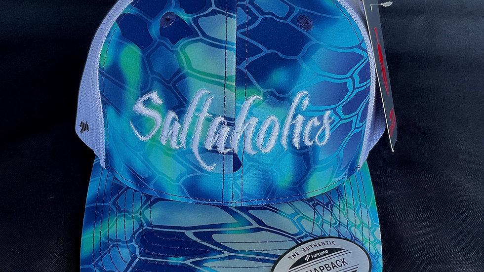 Saltaholics Blue Kryptek Hat