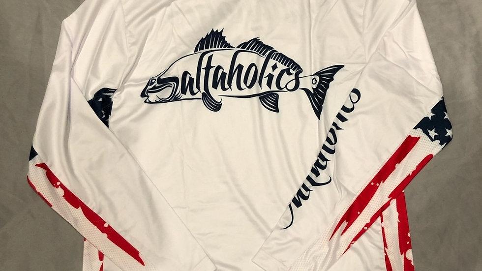 ProMesh Saltaholics  Patriotic Redfish