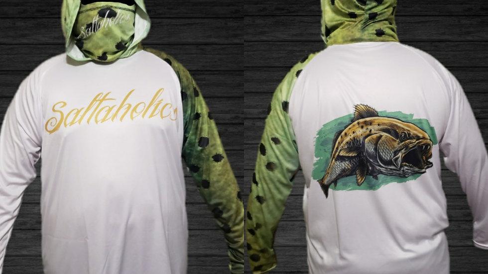 Saltaholics Trout with hoodie