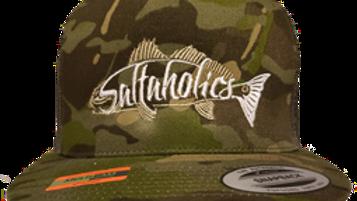 Saltaholics Redfish Flatbill Tropical Camo Flatbill