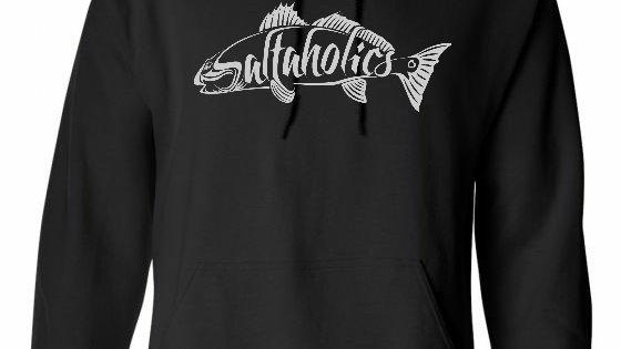 Youth Saltaholics Redfish Logo Hoodie