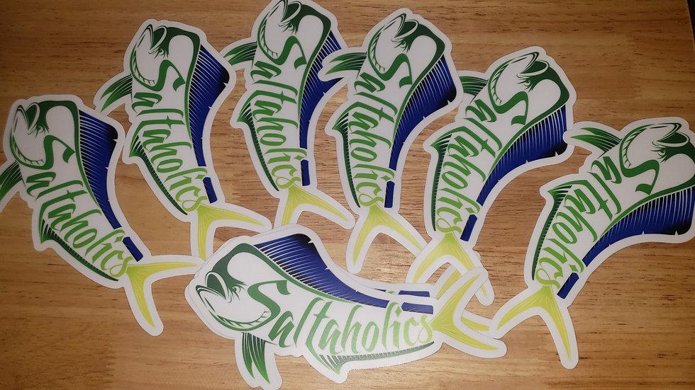 Mahi Logo sticker