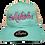 Thumbnail: Saltaholics womens Ponytail hat Seafoam meshed
