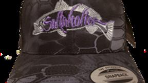 Saltaholics Trout Black kryptek Snapback