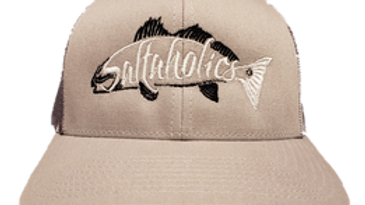 Grey hat with camoflauge back redfish