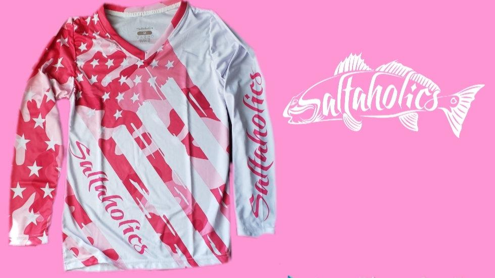 Women's Pink Camo