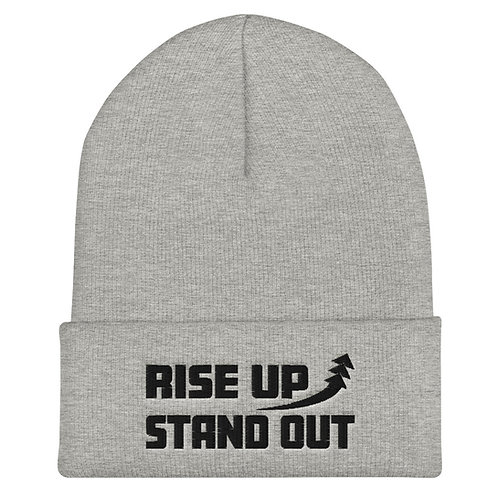 RISE UP STAND OUT Beanie