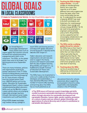 Global Goals in Local Classrooms