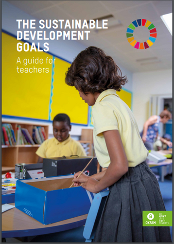 Oxfam's new FREE SDGs guide for teachers is out now...