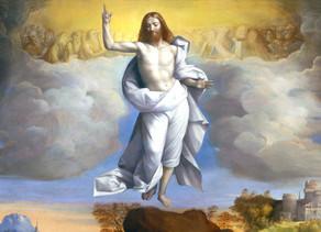 איחולי חג שמח לעולם הנצרות המערבית לכבוד חג העלייה לשמיים