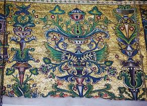 I tre alberi del mosaico crociato nella Basilica della Natività