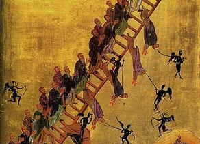 La verdadera escalera del Santo Sepulcro