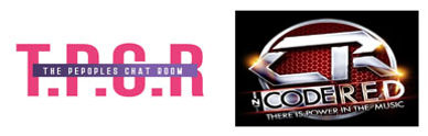 The Peoples Chat Room & DJ Code Red Logo