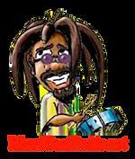 Island Beat Radio Rasta Man logo.png