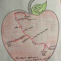 Orchard Map created in 2020