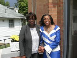 Paula with friend