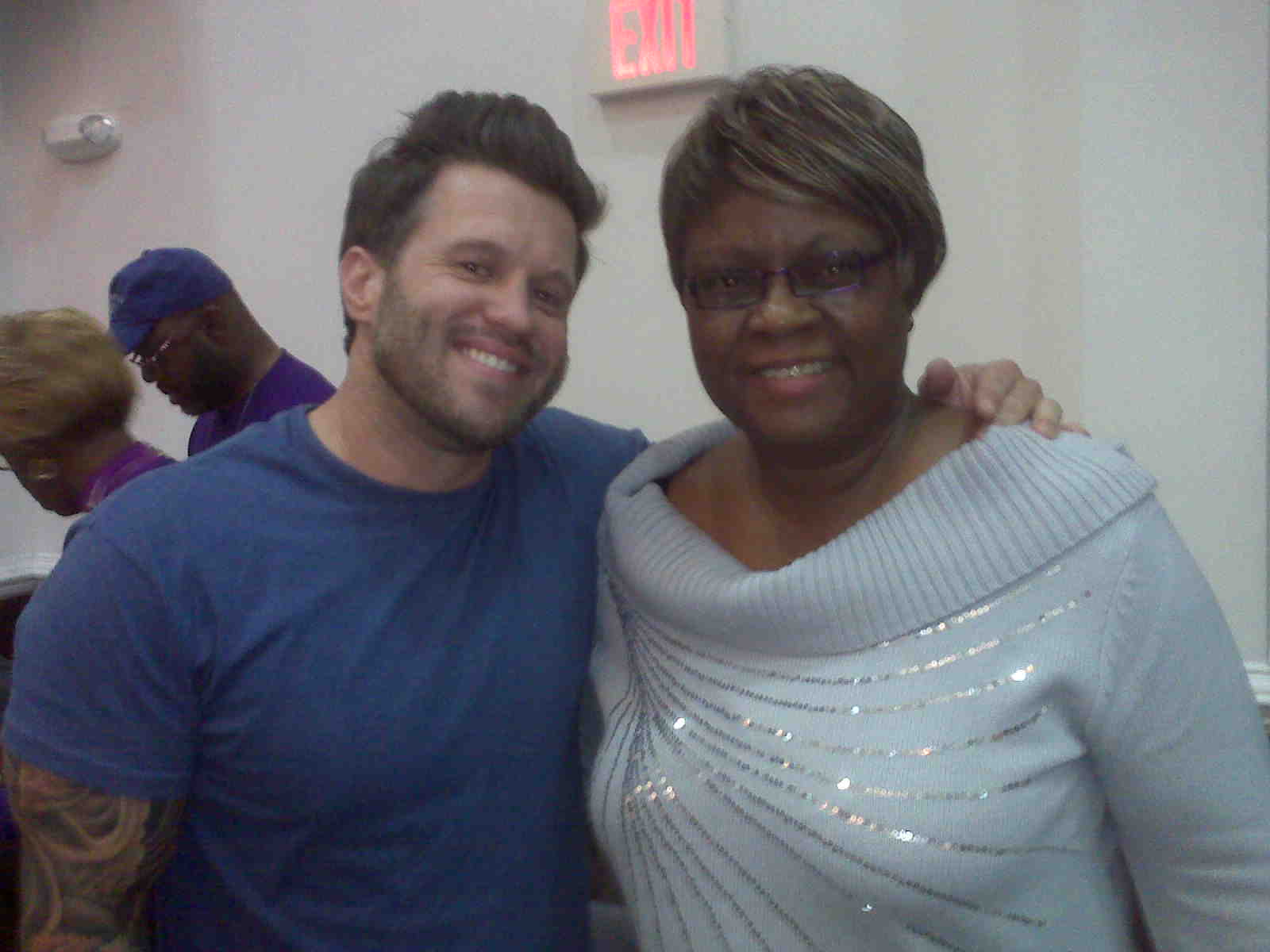 Paula with Wess Morgan