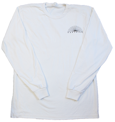 WHITE SURFDURT LONGLSEEVE