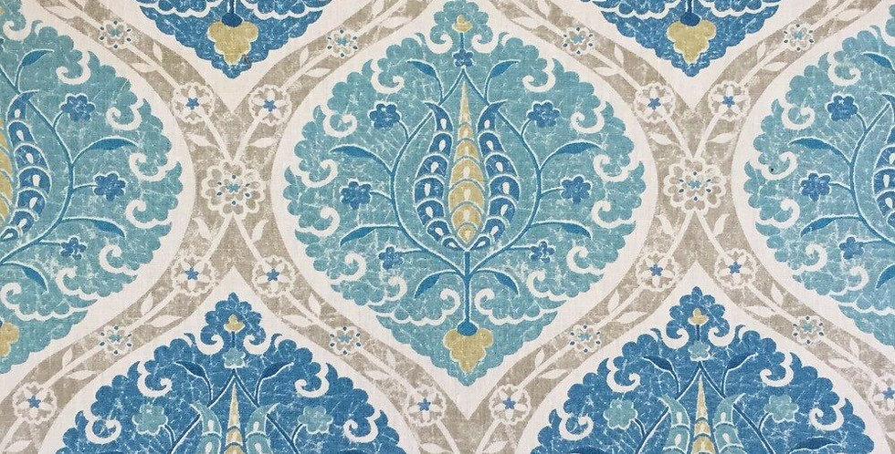 Turquoise and Aqua - Patrina Aquifer - Moroccan Style