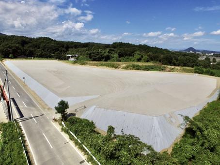 2020年8月18日 香川県さぬき市寒川町御田神辺発電所の建設を開始しました。